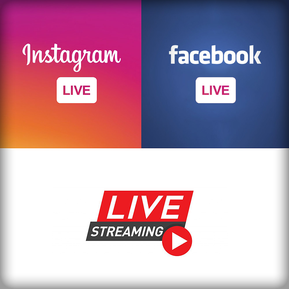 facebook live instagram live youtube streaming